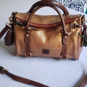 Dooney & Bourke Leather Satchel